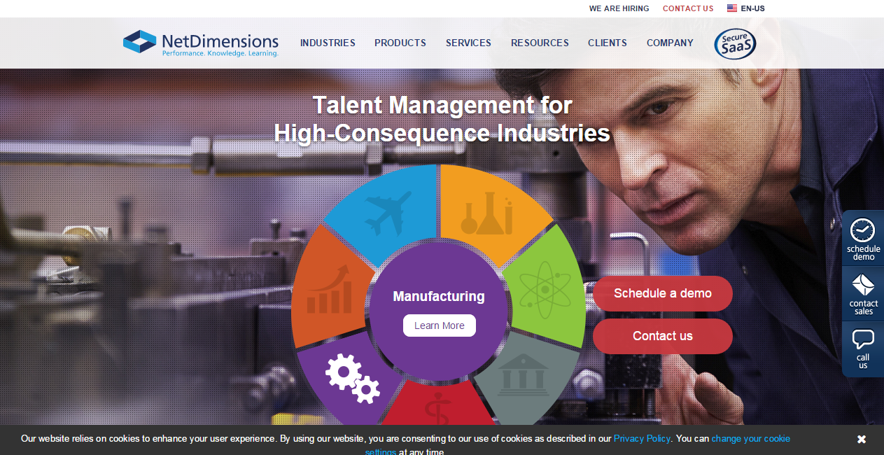 NetDimensions talent management and HR solutions