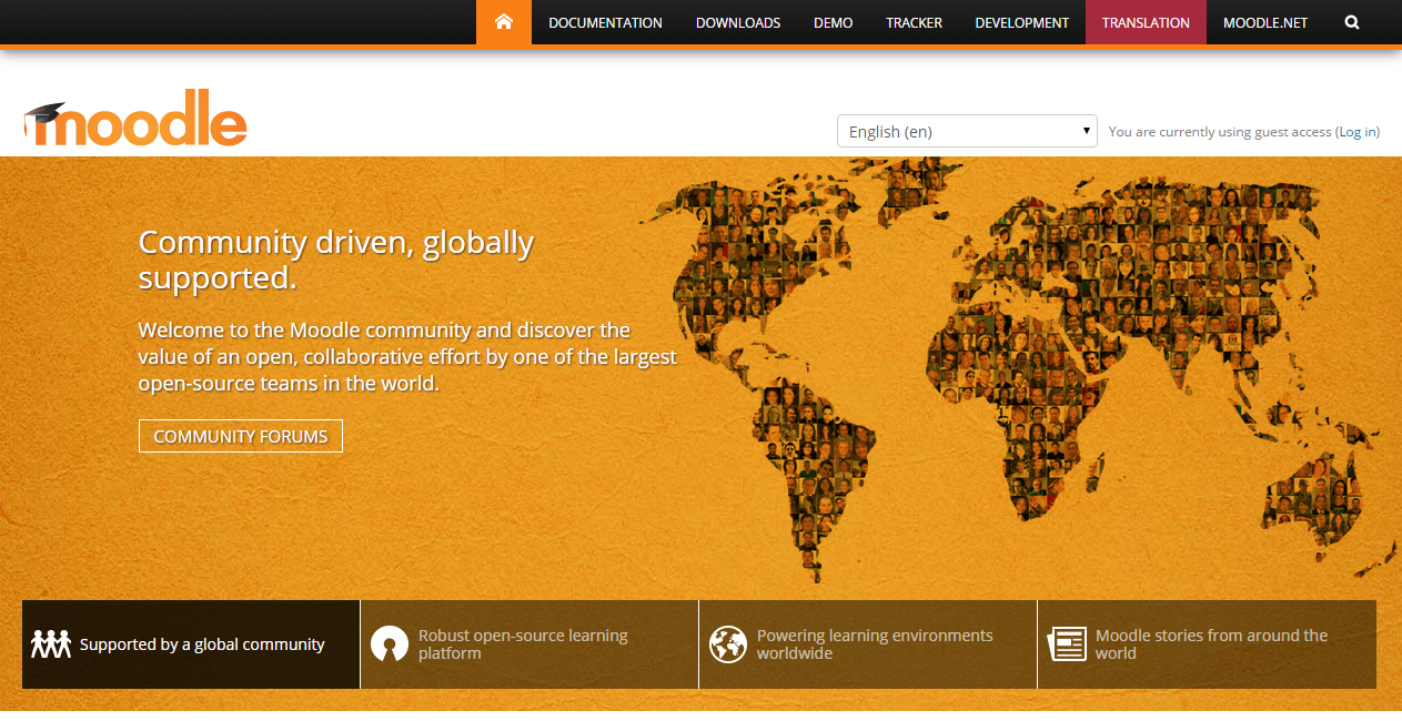 Moodle Lms Open Source Learning Management System
